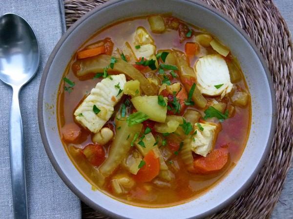 Mediterranean Fish Stew | Pamela Salzman
