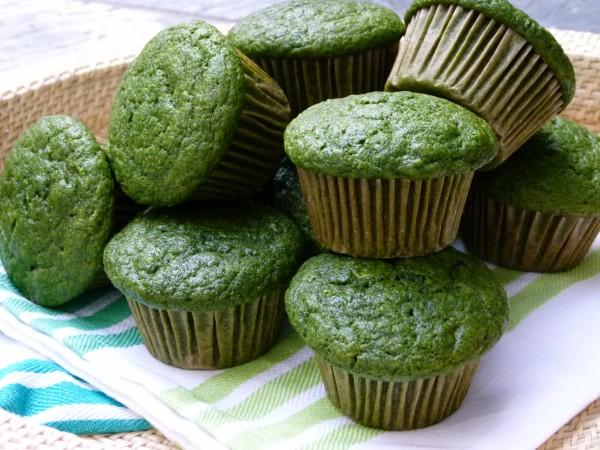 green muffins! | pamela salzman