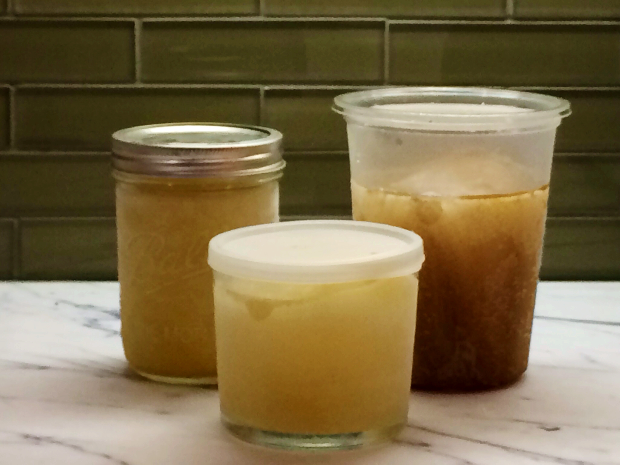 How to freeze chicken stock