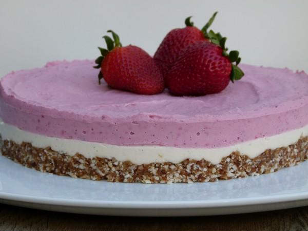 vegan cashew cheesecake | pamela salzman
