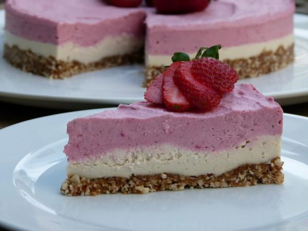 dairy-free cashew cheesecake! | pamela salzman
