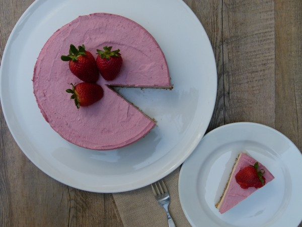 raw vegan cashew cheesecake | pamela salzman