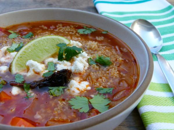 caldo tlalpeno soup | pamela salzman