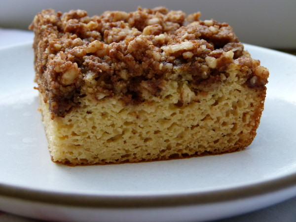 grain-free white bean coffee cake