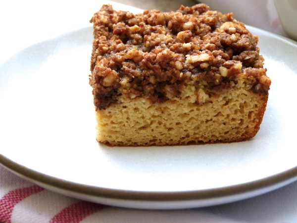 grain-free white bean coffee cake | pamela salzman