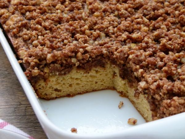 grain-free white bean coffeecake | pamela salzman