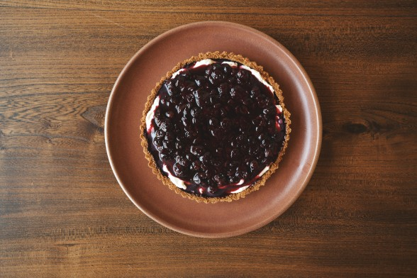 Yogurt and Blueberry Tart