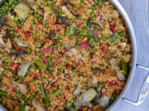 vegetable paella |pamela salzman