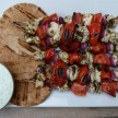 chicken souvlaki with tzatziki recipe