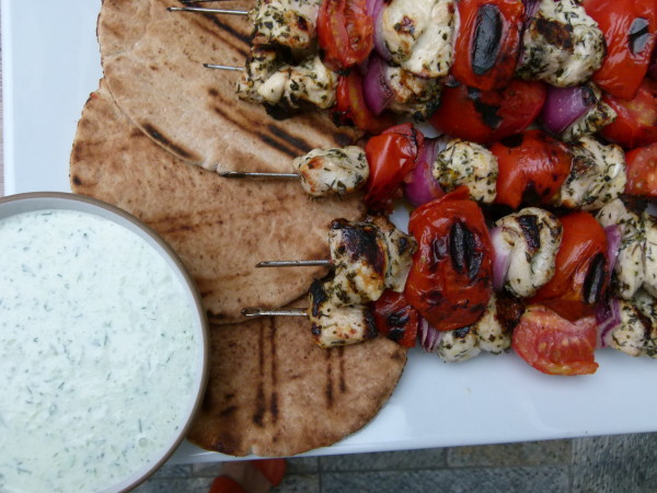 Chicken Souvlaki | Pamela Salzman