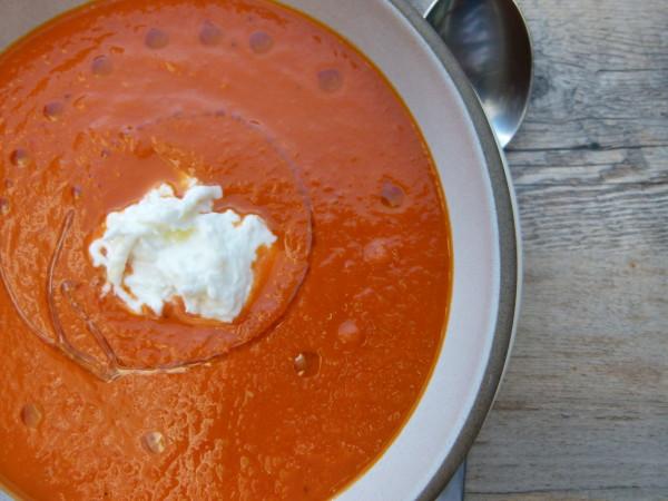 fresh tomato soup recipe | pamelasalzman.com