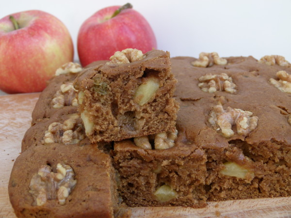 vegan apple spice snacking cake | pamela salzman