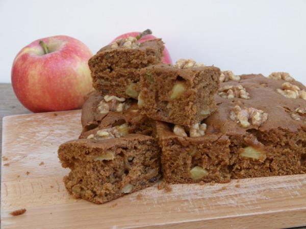 vegan apple spice snacking cake | pamela salzman