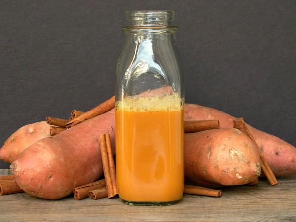 bottled orange sweet potato juice ile ilgili görsel sonucu