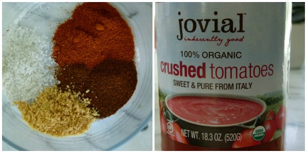 spice mixture and my favorite tomatoes