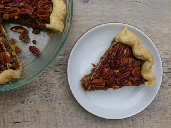 pecan pie without corn syrup or refined sugar | pamela salzman