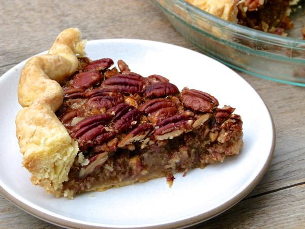 pecan pie without corn syrup | pamela salzma