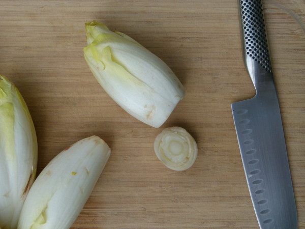 prepping the endive | pamelasalzman.com