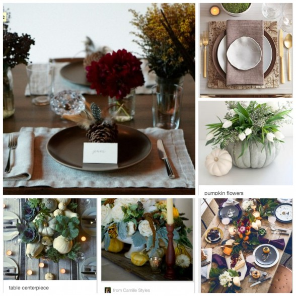 thanksgiving decor ideas | pamela salzman