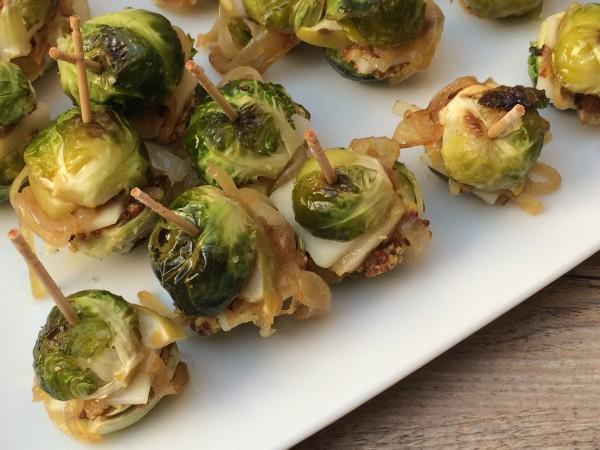 brussels sprout sliders | pamela salzman