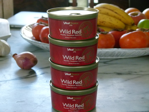 my favorite canned wild salmon