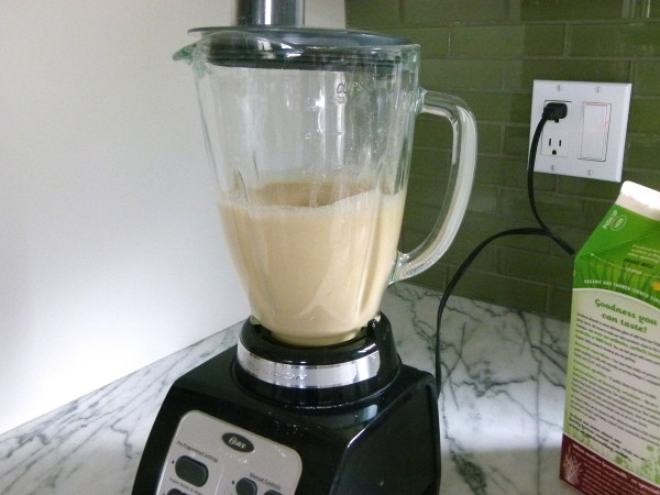 batter in the blender