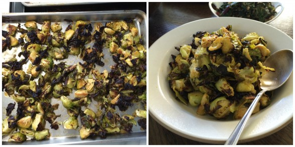 Miso-Maple Brussels Sprouts