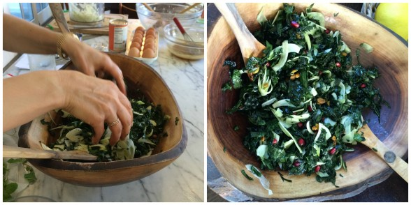 Kale Salad with Fennel