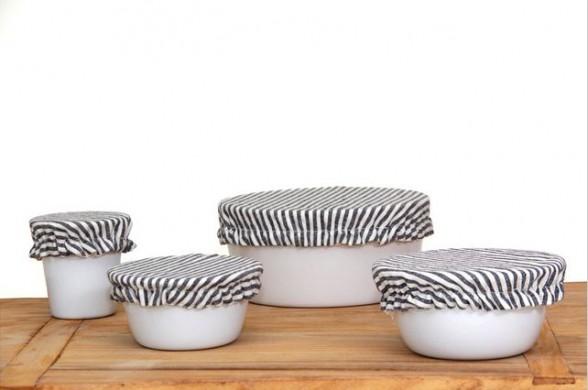Ambatalia Linen Bowl Covers