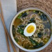 Homemade ramen noodle soup recipe