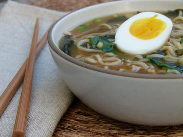 homemade ramen noodle soup | pamela salzman