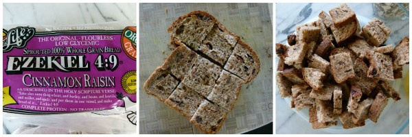 sprouted cinnamon raisin bread