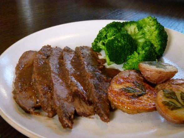onion braised beef brisket | pamela salzman