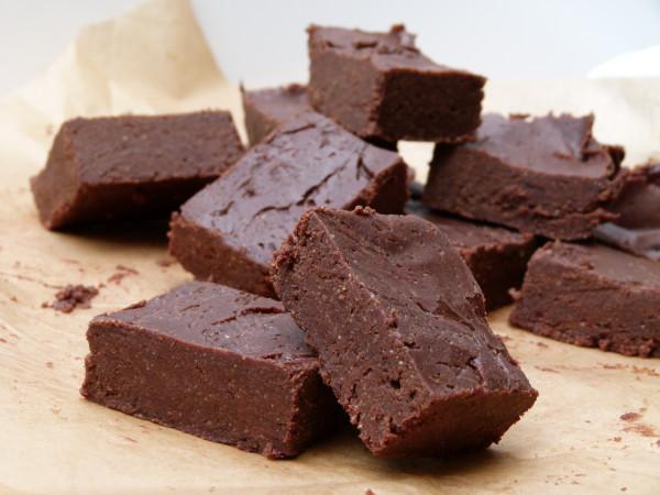 truly healthy chocolate fudge | pamela salzman
