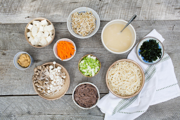 topping bar for miso soup | pamela salzman