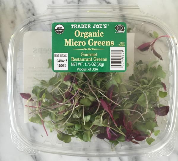 Trader Joe's Organic Microgreens