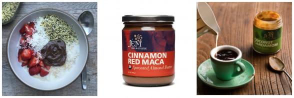 Jem Raw Organic nut butters | pamela salzman