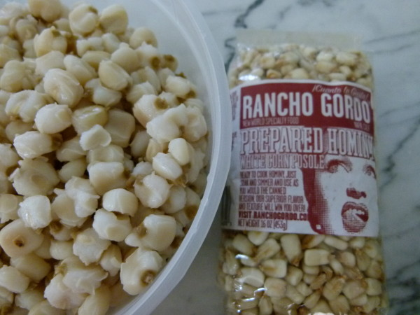 I prefer to cook hominy from scratch