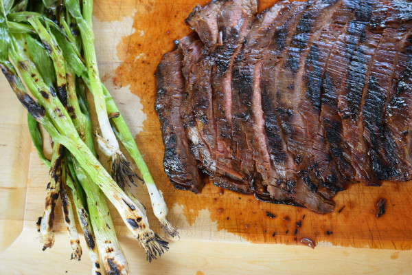 the best grilled marinated flank steak | pamela salzman