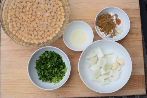 baked falafel | pamela salzman