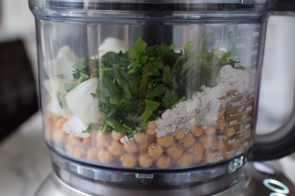 pulse everything in the food processor