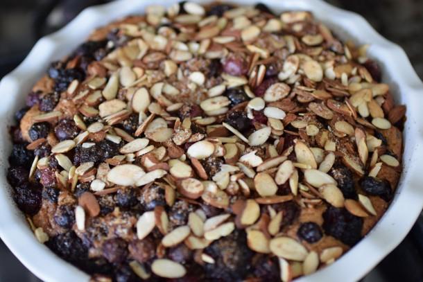 whole grain mixed berry buckle | pamela salzman