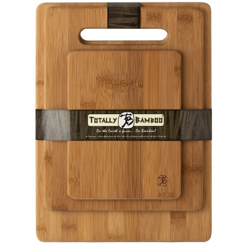totally bamboo  piece bamboo cutting board set, for meat  veggie, Kitchen design