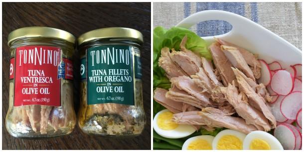 Tonnino -- fave tuna   pamela salzman