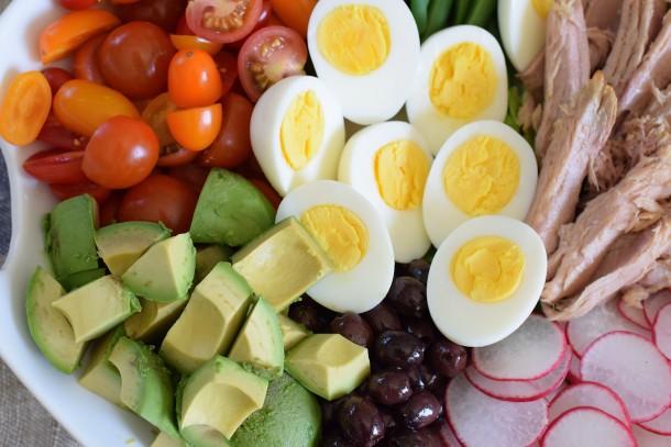 california nicoise salad | pamela salzman