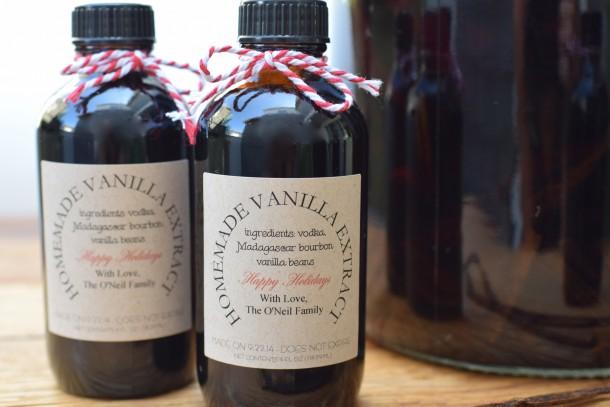 hoemmade vanilla extract perfect for holiday gifts | pamela salzman