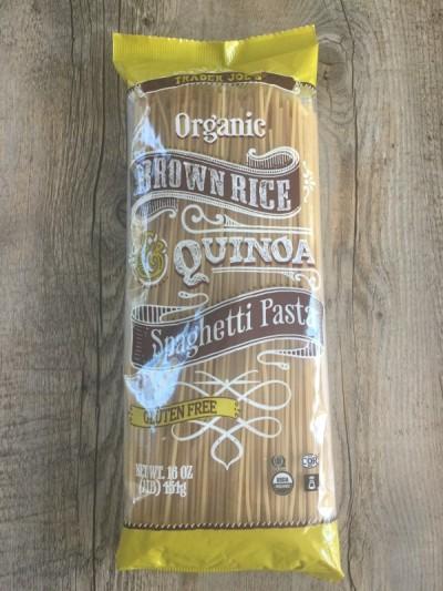 TJ Brown Rice and Quinoa Pasta