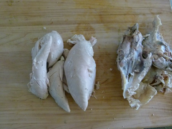 how to poach chicken | pamela salzman