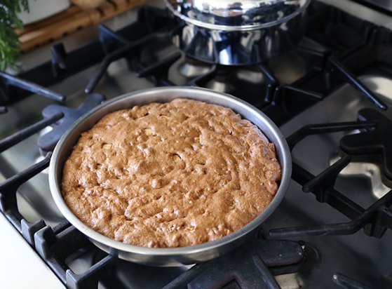 grain-free cinnamon apple cake | pamela salzman