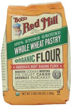 Bob's Red Mill Organic Whole Wheat Pastry Flour | pamela salzman